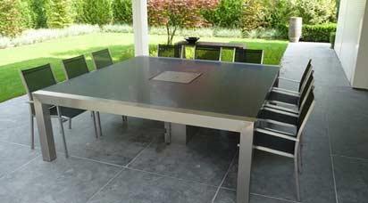 RVS tafelonderstellen