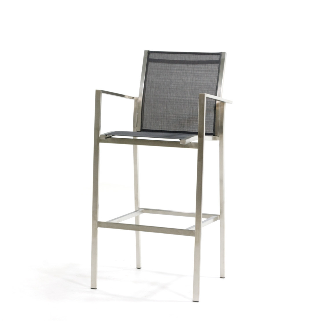 Falck RVS grey bar chair