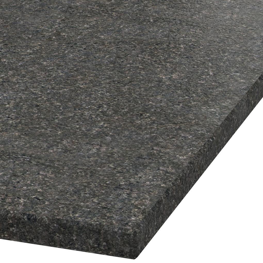 Blad 30mm dik Black Pearl graniet (leathered)