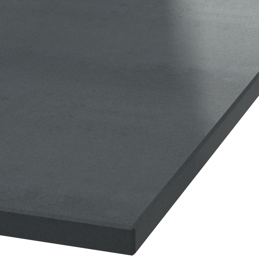 Blad 30mm dik Absolute Black graniet (gezoet)