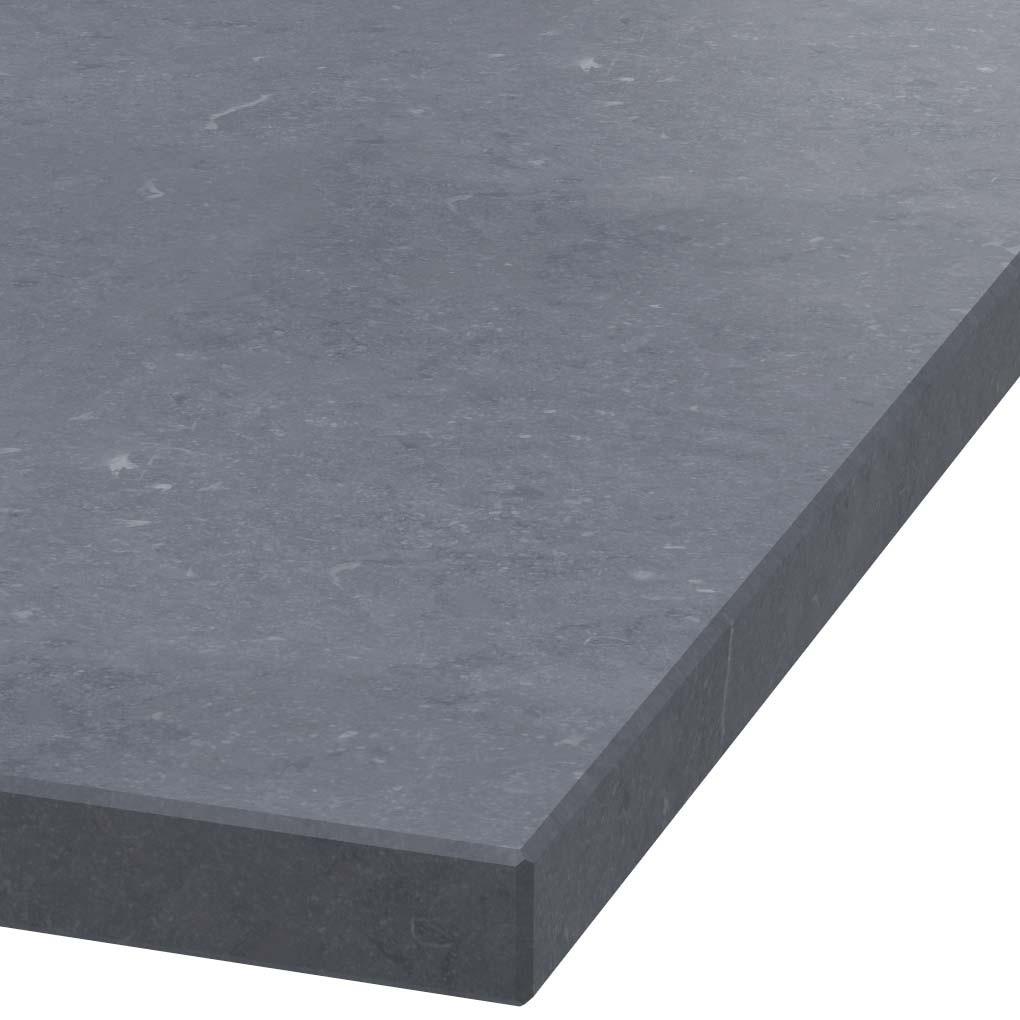 Blad 40mm dik Belgisch hardsteen (gezoet)