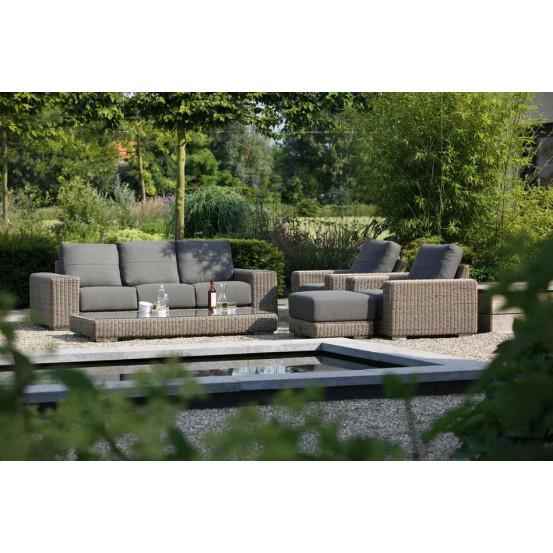 Kingston loungeset 4-delig met lounge stoelen