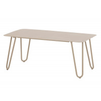 Cool taupe lounge tuintafel 110 x 59 x 45cm