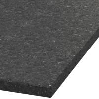 Blad 30mm dik Black Galaxy graniet (leathered)