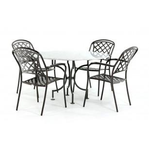Marmeren tafel Bianco Carrara