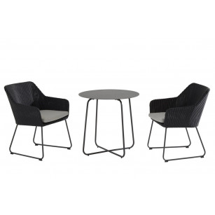 Avila anthracite dining set