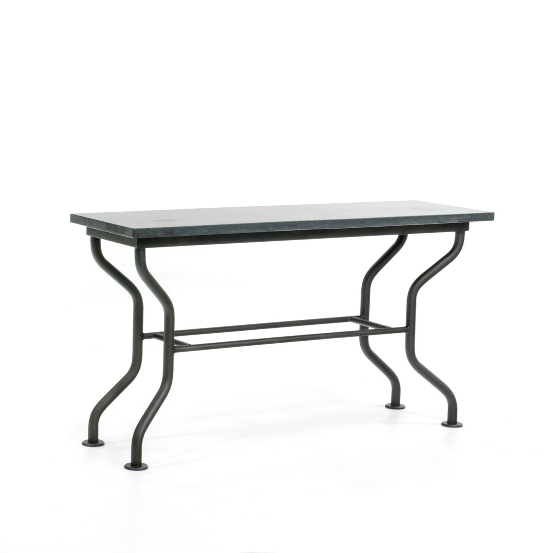 Side-table met basalt (gezoet) blad