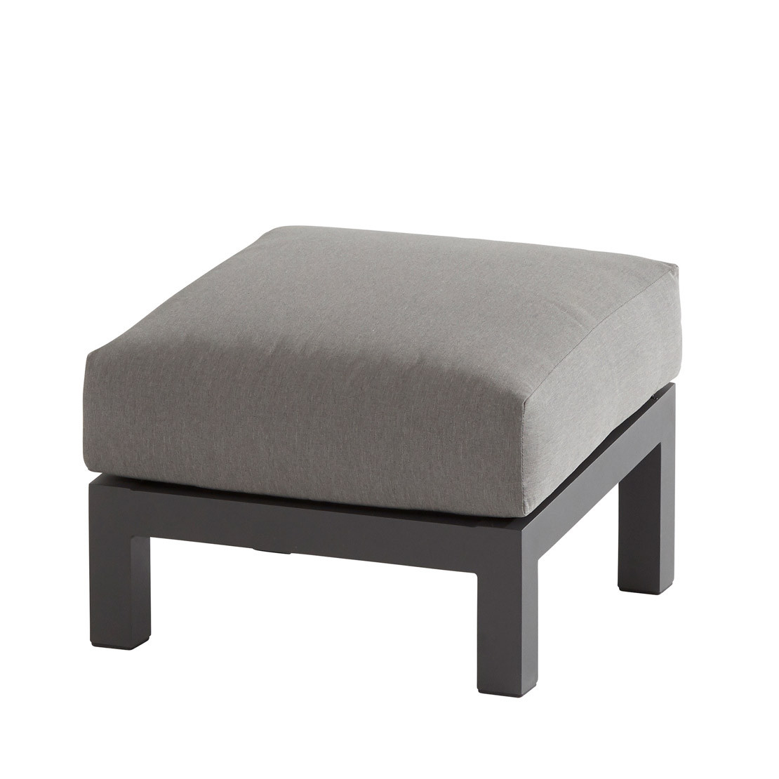 Capitol footstool with cushion Anthracite