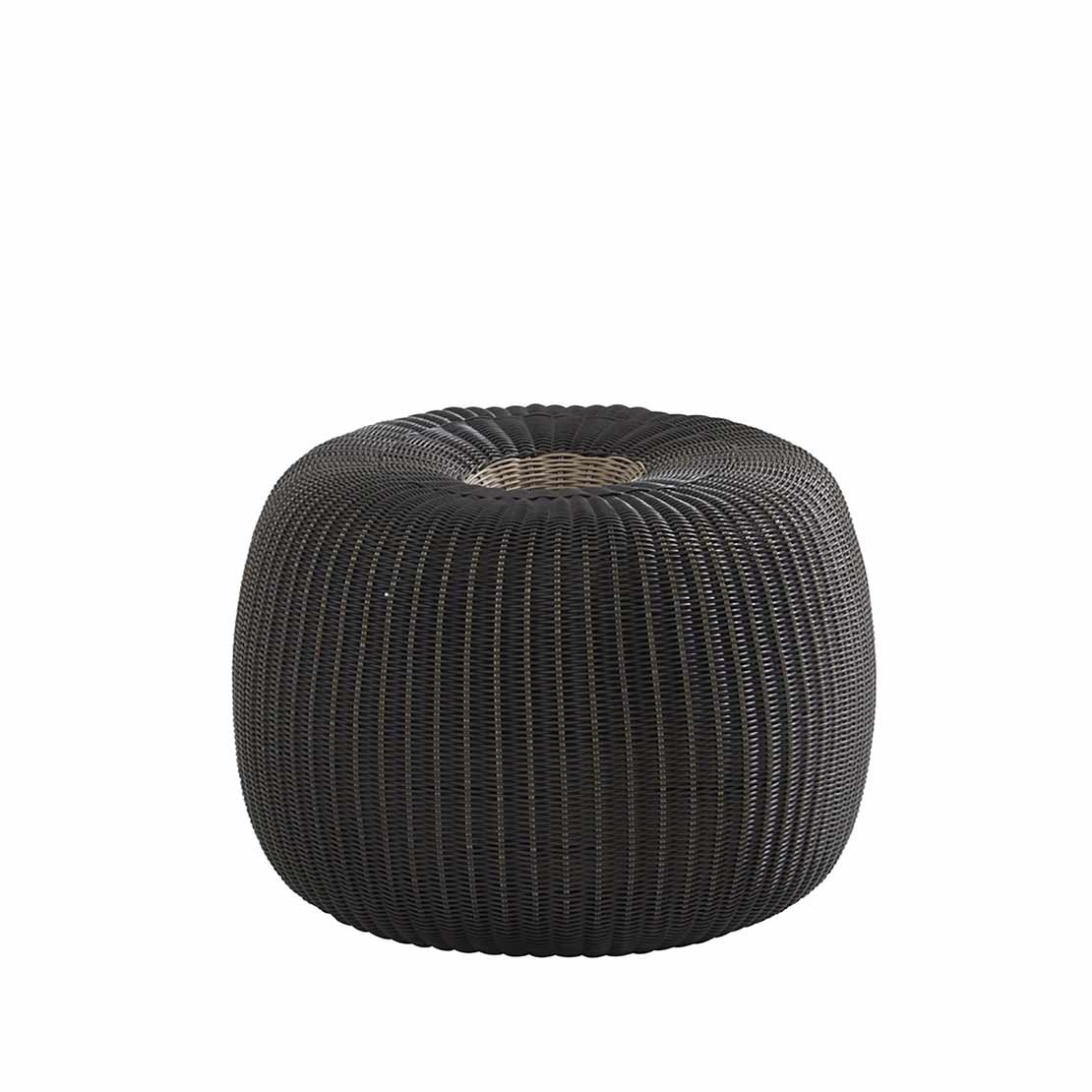 Big Donut anthracite hocker