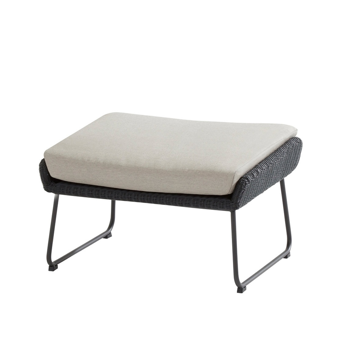 Avila anthracite hocker
