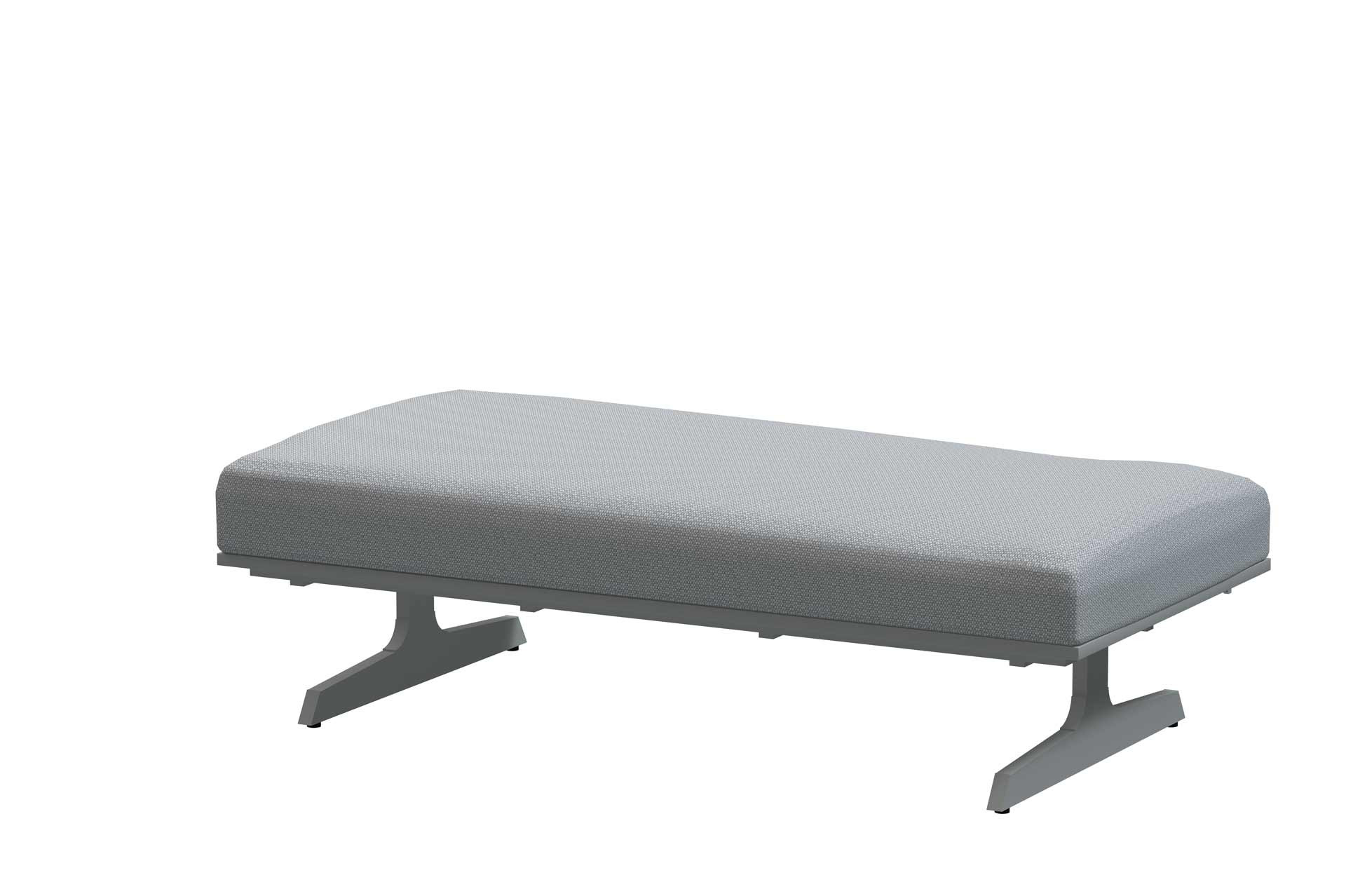Play panel concept Frost Grey 2 seater base with cushion