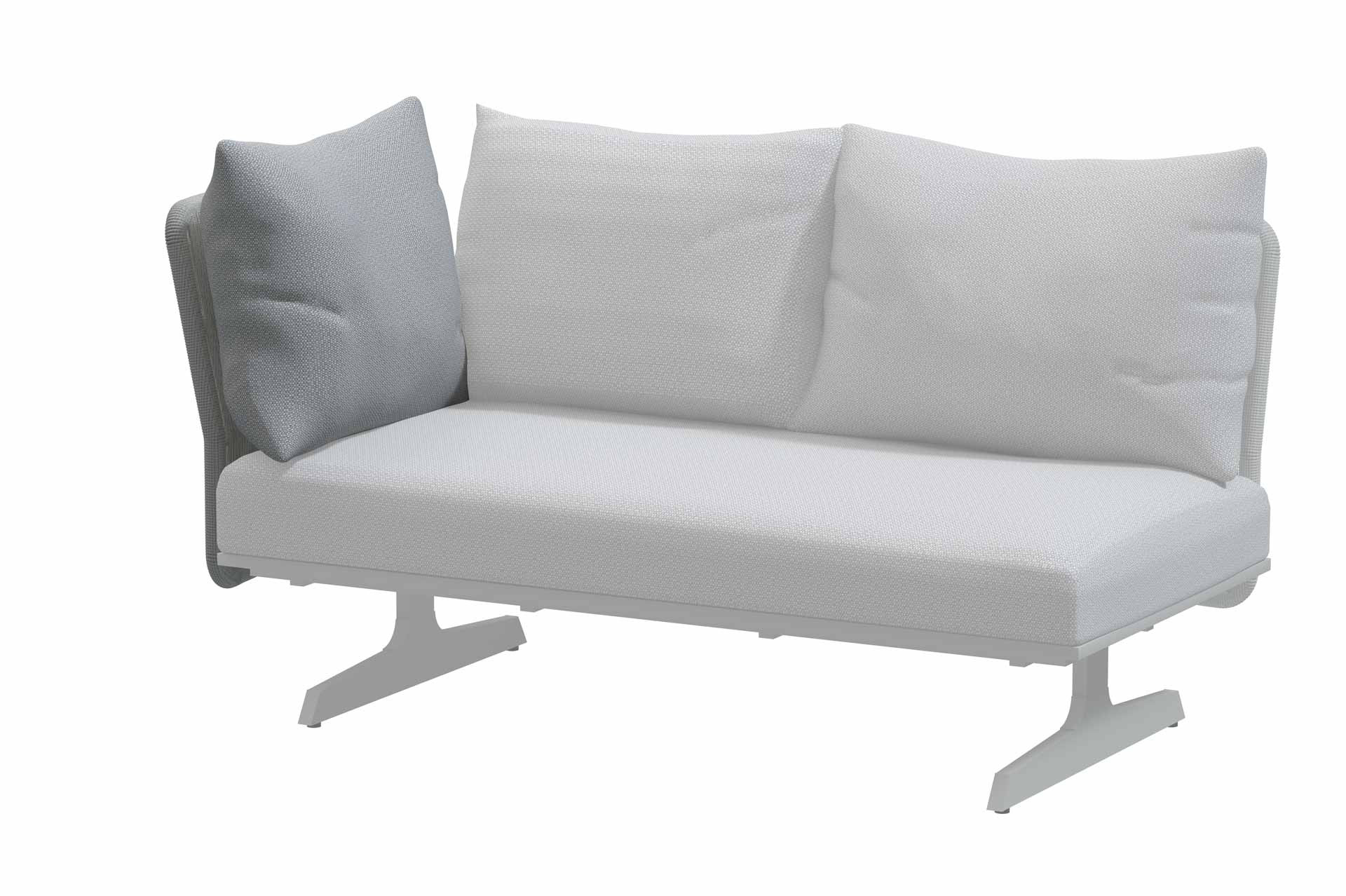 Play panel concept Frost Grey back support with cushion