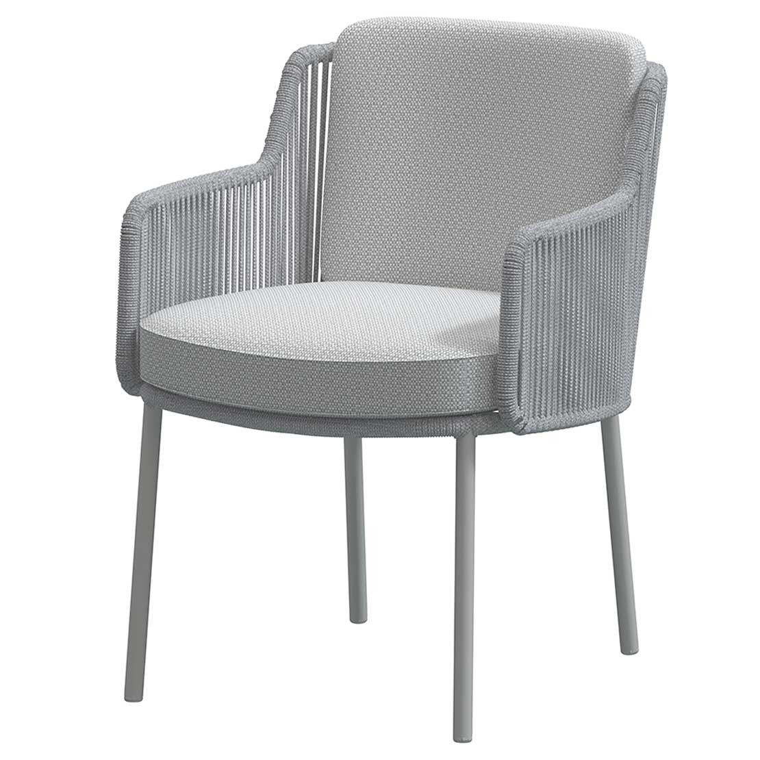 Bernini dining chair Frozen with 2 cushions