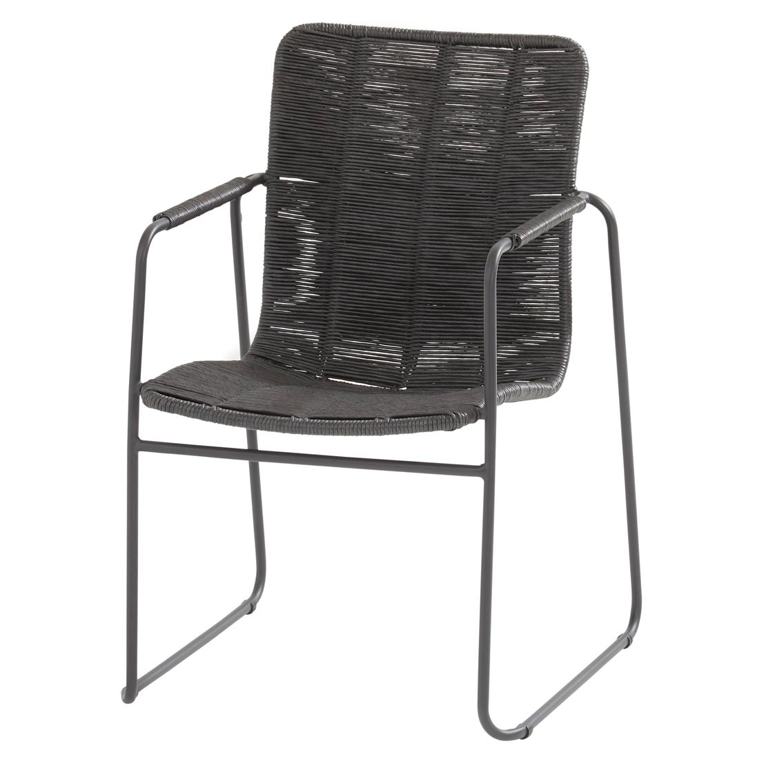 Palma stacking chair Anthracite