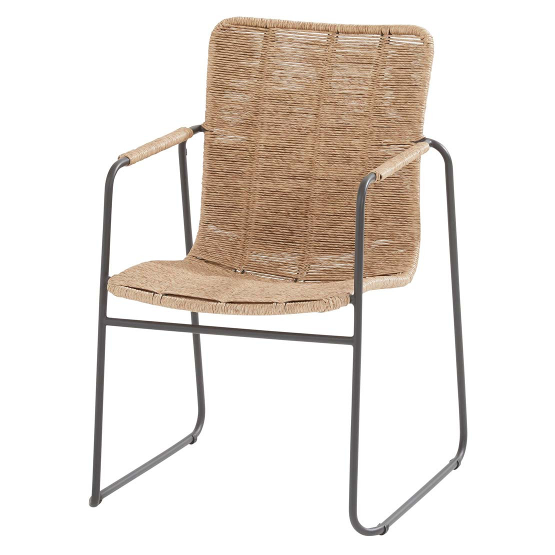 Palma stacking chair Natural