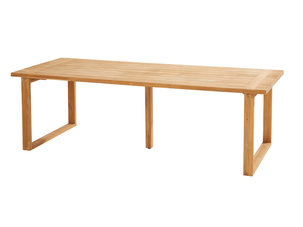 Spartan diningtable Natural teak 240 x 100 cm