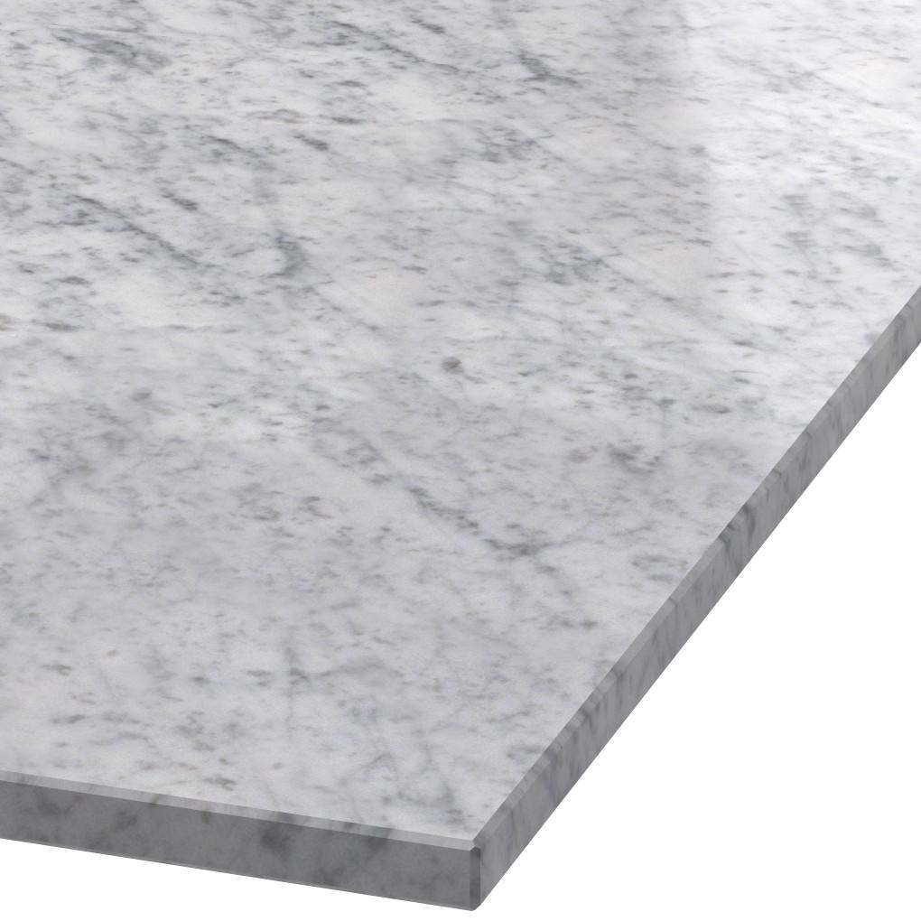 Blad 20mm dik Bianco Carrara C marmer (gepolijst)