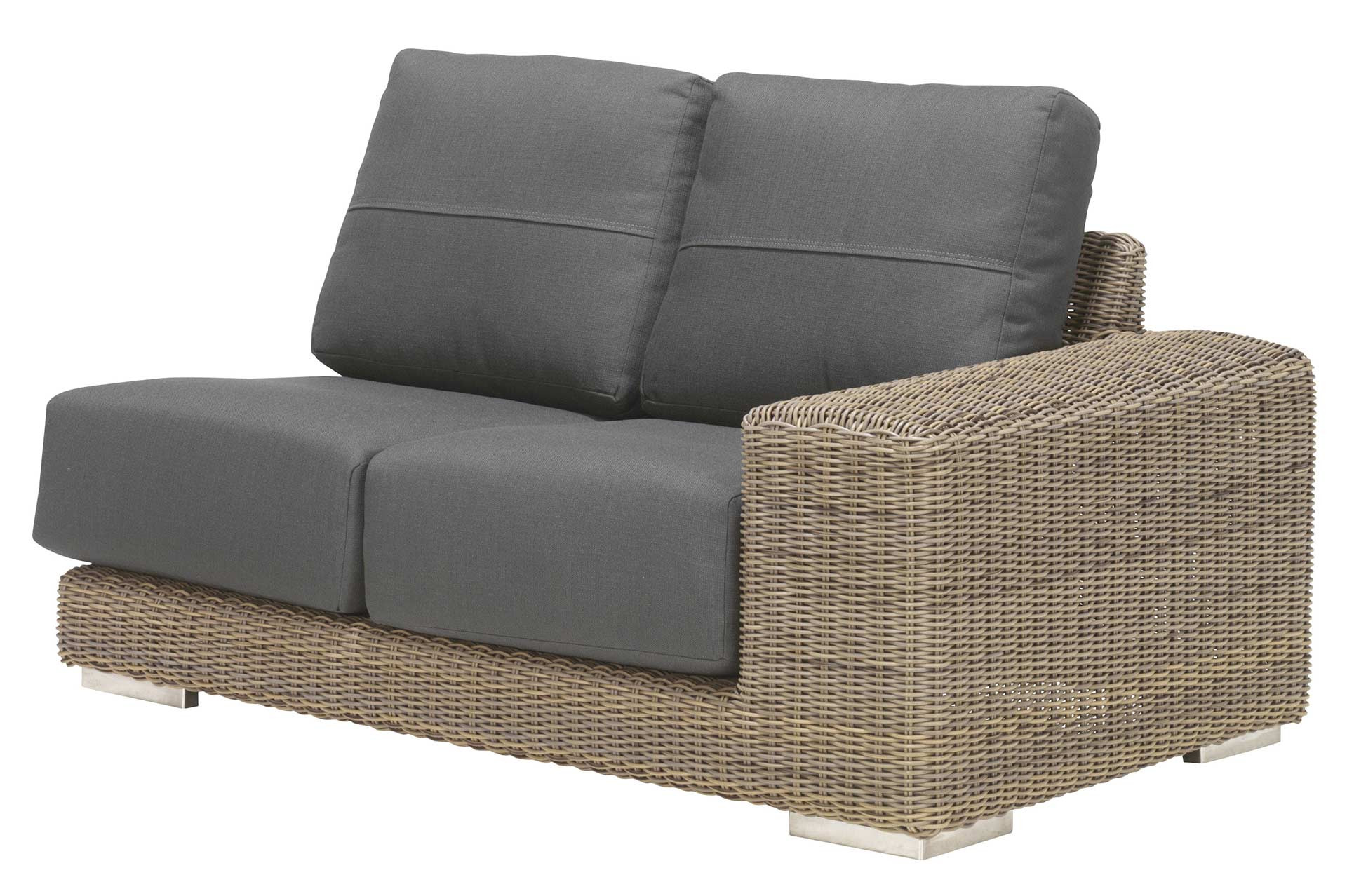 Kingston modular 2 seater left with 4 cushions